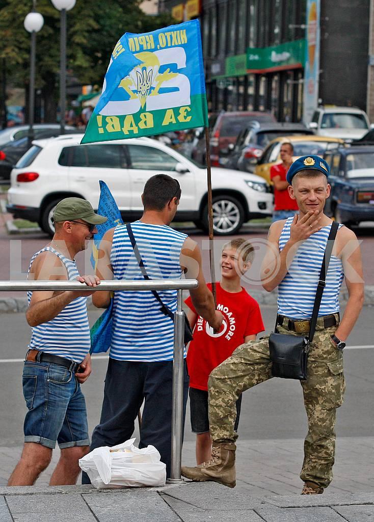 Празднование Дня ВДВ в Киеве — Изображение 32909