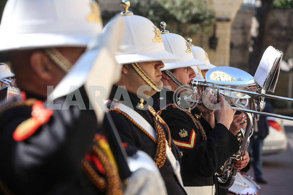 Orchestra of the guard of honor of the Republic of Malta — Image 54119