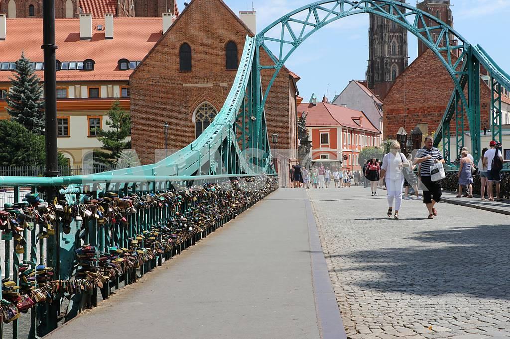 Tumski Bridge, Wroclaw, Poland — Image 34649