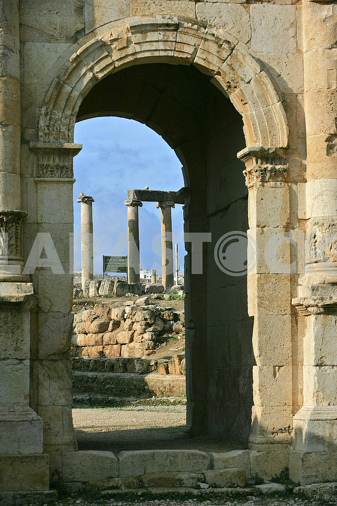 The ruins of the ancient city of Jarash — Image 49869