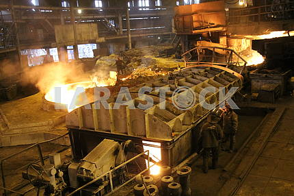Cast iron smelting, steelmaking