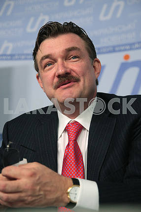 TV presenter Evgeny Kiselyov