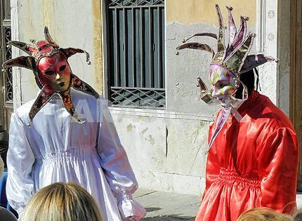 Carnival in Venice,Italy,Europe,4
