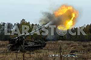 Military exercises on the Devichki shooting range