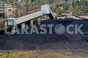 Coal warehouse.