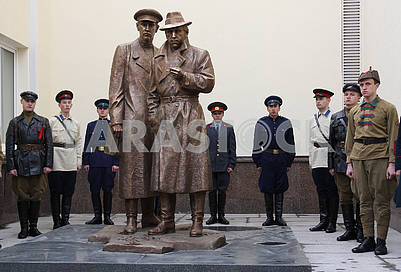 "Monument to the heroes of the film ""The meeting place can not be changed"""