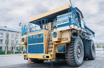 big quarry truck