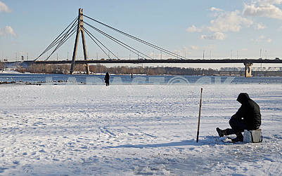 Fisherman on the Dnieper