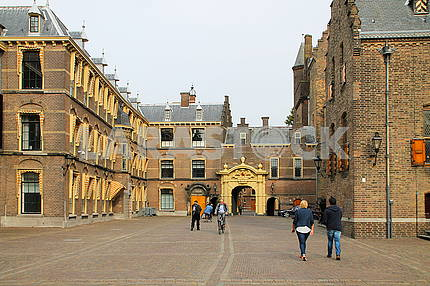 The Hague: The palace complex Binnenhof