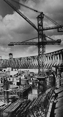 Construction of the second stage of the Dnieper 2