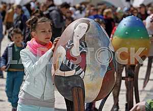 Easter eggs festival opened in Kiev