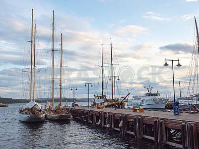 Yachts and ships