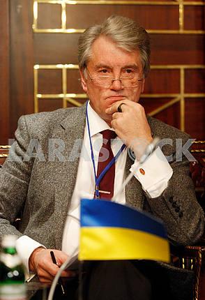 Viktor Yushchenko,middle portrait