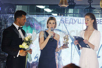 Nikolay Tishchenko, Anita Lutsenko and Alexandra Kucherenko