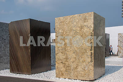 Stone block 3X2X1 Golden beach original