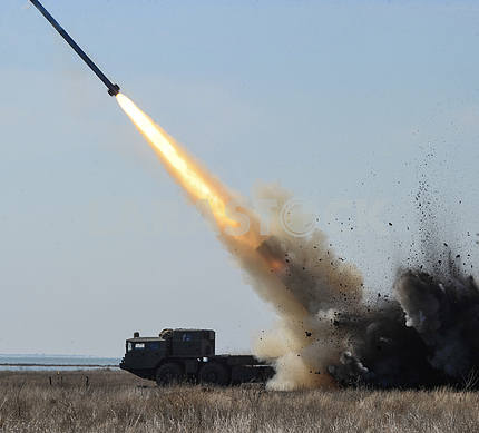 Tests of missiles of Ukrainian production