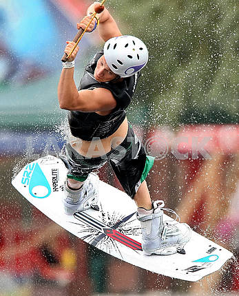 World Cup Open Championship in Kiev on wakeboarding