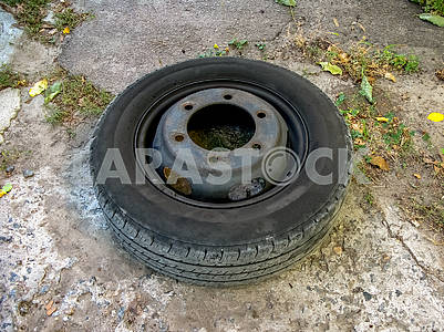 Lorry car wheel