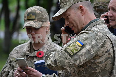 The new commander of the Operation of the united Forces, Lieutenant General Alexander Syrsky