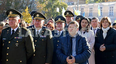 Ministers at Sofia Square