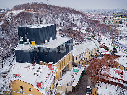New building of the Moscow Theater on Podol
