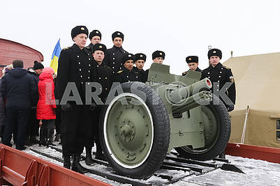 Celebration of the memory of Heroes of Krut at the Heroes of Kruty Heroes in Chernigov region
