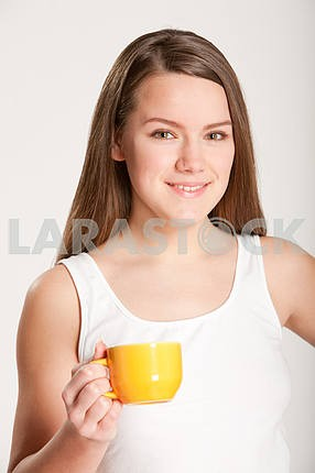 Girl with Cup