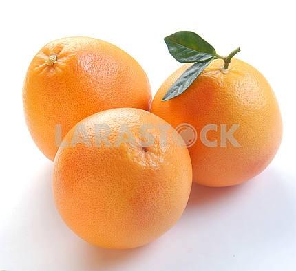 Three grapefruits
