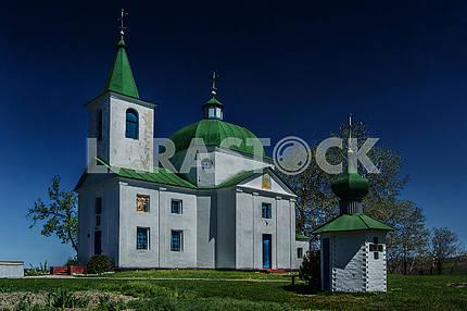 Church of Archangel Michael, s.Shandra (1831). Ukraine