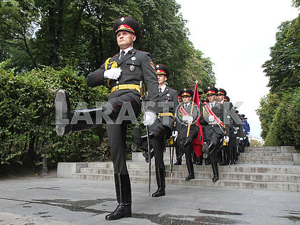 Servicemen of the guard of honor