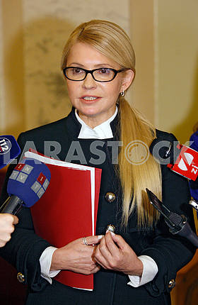 Yulia Tymoshenko,portrait in half growth
