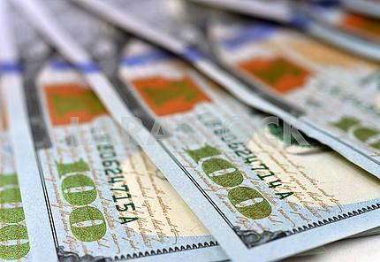 new 100 US dollar 2013 edition banknotes or bills