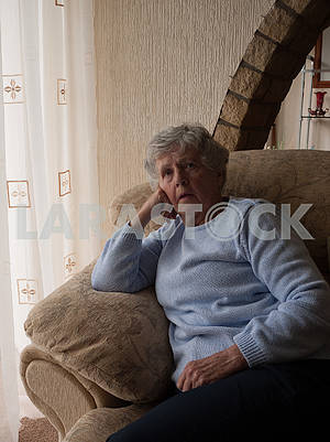 Lonely Senior Woman