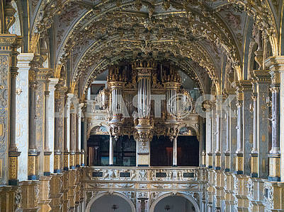 Organ Hall in the Castle