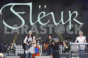 Musical band Fleur