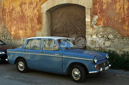 Old car on the streets of Cyprus