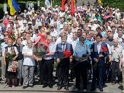 Petr Simonenko, Vadim Novinsky and Evgeny Muraev