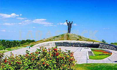Cherkassy The memorial complex and the monument