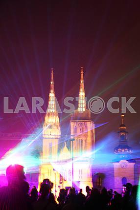 Festival of Lights,Laser Story,Zagreb,2017.,38