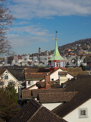 Roofs in Zurich