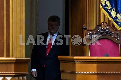Petro Poroshenko in the shadow