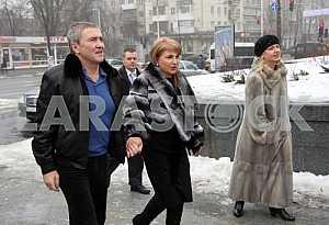 Leonid Chernovetsky and Alina Aivazova