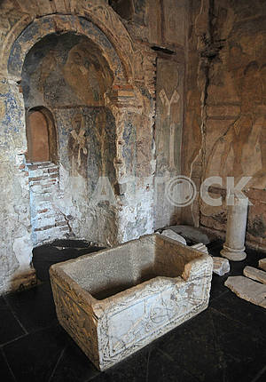 The font in the St. Sophia Cathedral