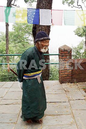 A resident of Nepal, Kathmandu