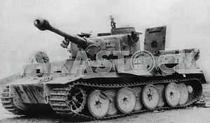 German heavy tank Tiger T-VI