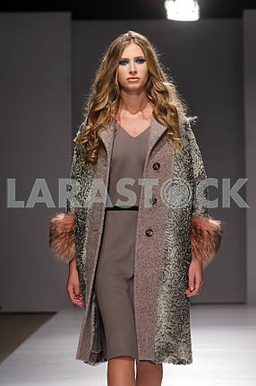 V by Gres show in the 14th season of the international fashion week of Mercedes-Benz Kiev Fashion Days F / W 17-18 in Ukraine
