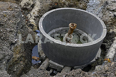 Installation of a well