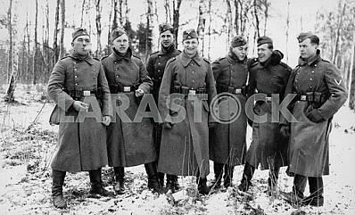 German infantry squadron. The Second World War