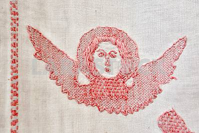 The exhibition Masterpieces of Ukrainian folk embroidery in Kiev