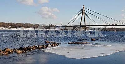 North Bridge in Kiev